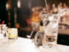 Cocktail list at Duncan's Bar & Bistro, Irvine