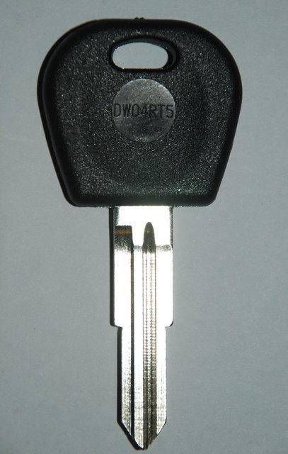 Daewoo Transponder Key