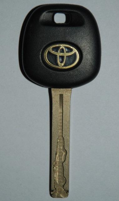 Toyota Landcruiser Key