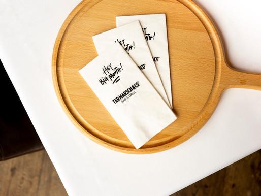 Hoe Ter Marsch & Co opvalt met unieke servetten
