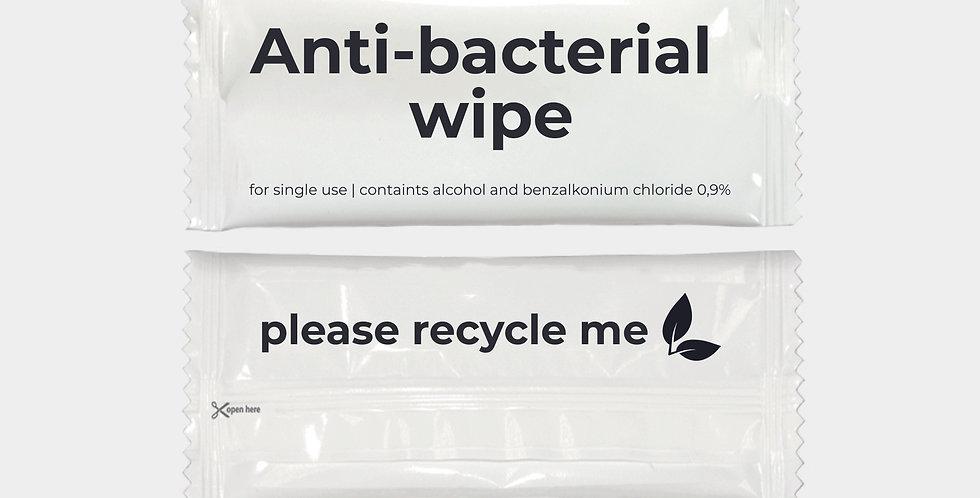 Antibacteriële doekjes | 1000 stuks