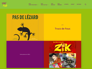 Realisation Refonte Site Flip-Flap Editions