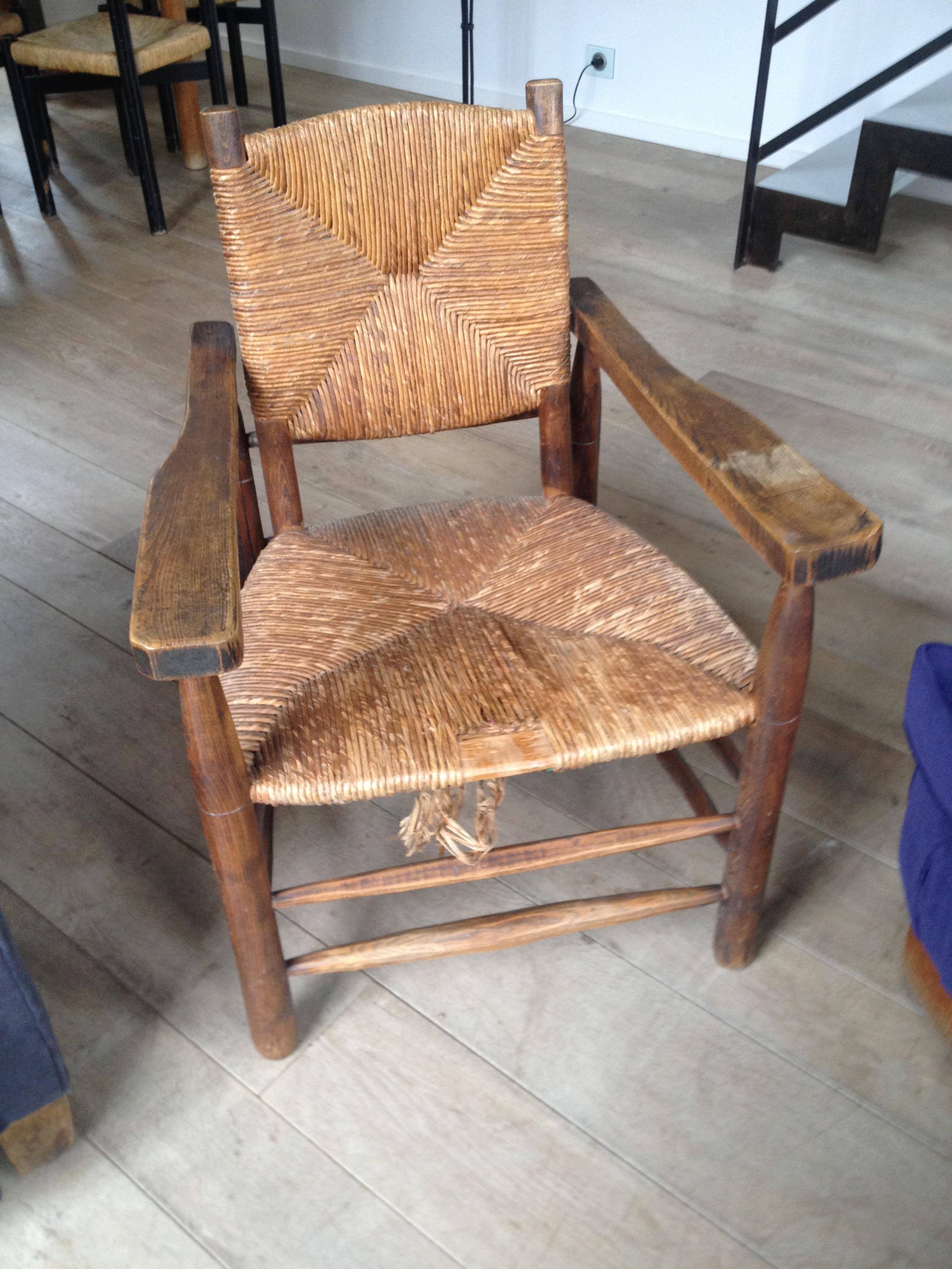 fauteuil Jeanneret