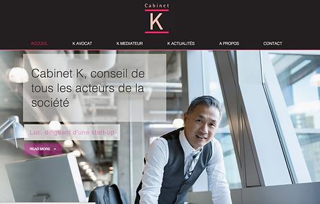 Site Cabinet K , Avocat Droit du travail