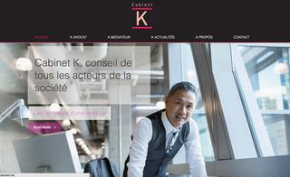 Refonte du Site et Blog du Cabinet K