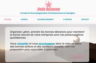 Conception site Stella Bissessur