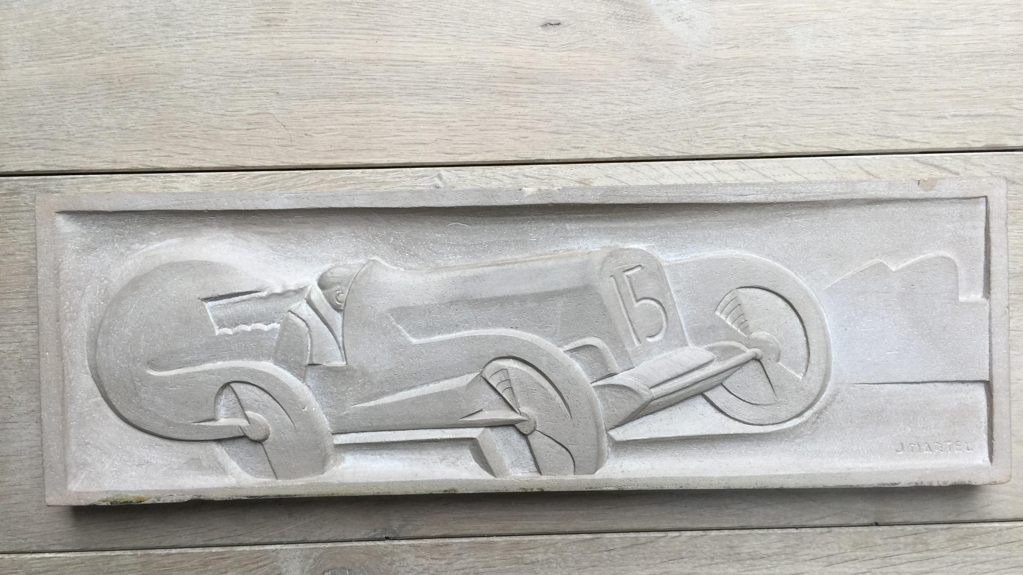 plaque martel