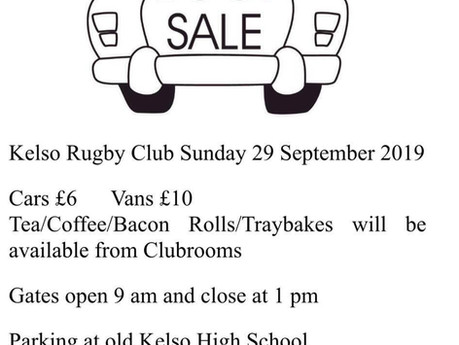 Cougars Car Boot Sale