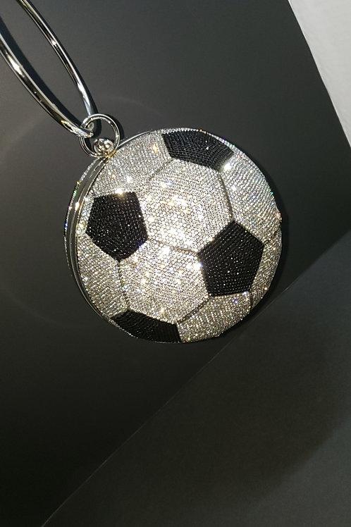 Rhinestone Soccer Bag