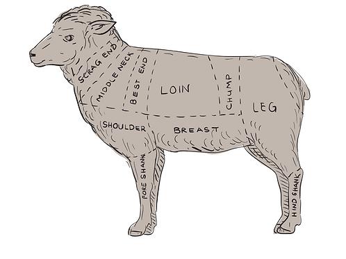 Custom Butcher Lamb