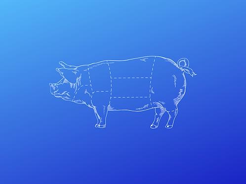 Custom Butcher Hog