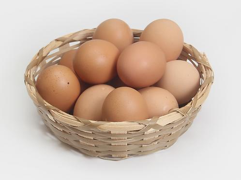 Pasture Raised Brown Eggs, 1 dozen