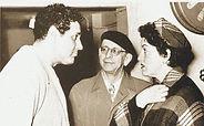 Astrid Varnay, Ramon Vinay y Hermann Weigert