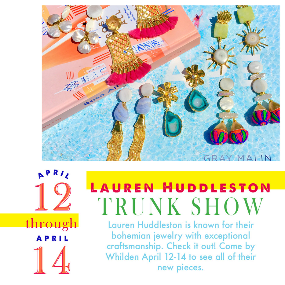 Whilden Trunk Show