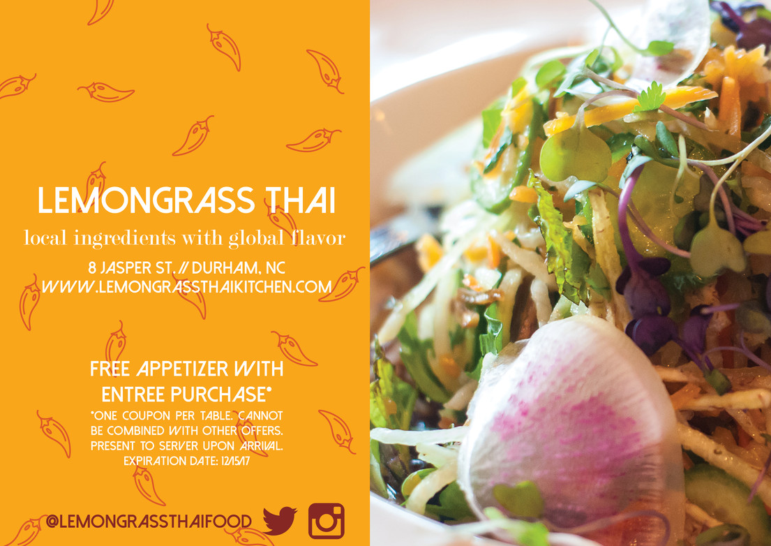 Lemongrass Thai Ad