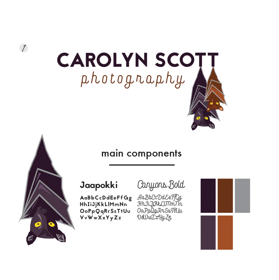 Carolyn Scott Photography Logo Concept