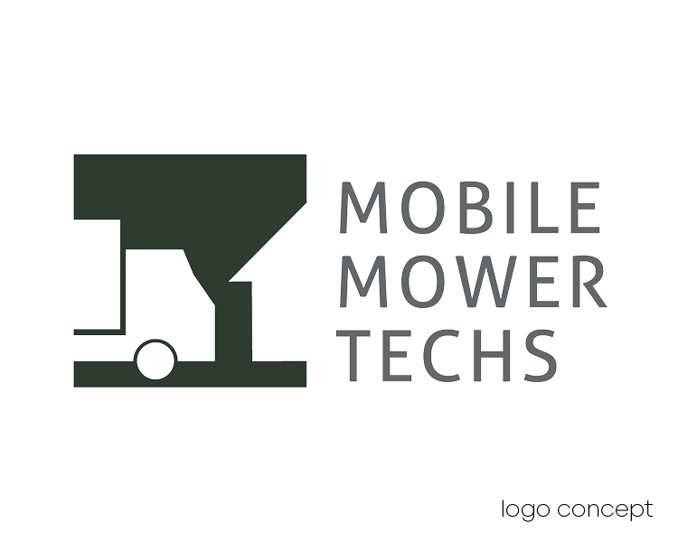 Mobile Mower Techs Logo Concept