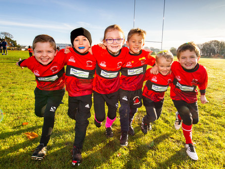 Carnoustie Rugby Club's red is about to Seagreen