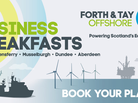 OFFSHORE WIND JOURNEY STARTS HERE FOR FORTH AND TAY