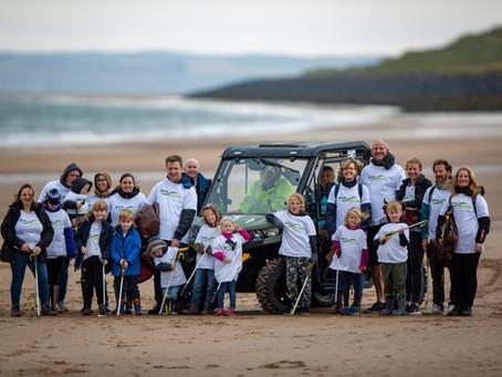 Carnoustie Beach Clean