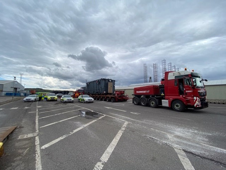 Second police escorted convoy from Port of Dundee to Tealing to take place this Saturday