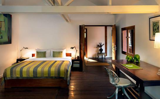 Green Suite Bedroom