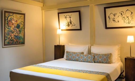 Yellow Suite bedroom