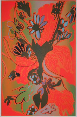 Bayou Bouquet Orange-Pink