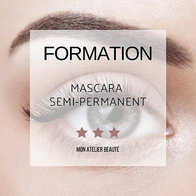 Formation Mascara Semi Permanent - Mon A
