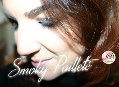 Réalisez un smoky eyes pailleté facilement!