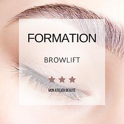 Formation - Browlift - Mon Atelier Beaut