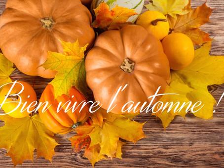 Mes 7 conseils pour bien vivre l'automne
