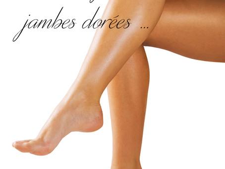 Pour de jolies jambes dorées