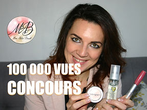 100 000 Vues Mon Atelier Beauté - Concours - Produits à gagner