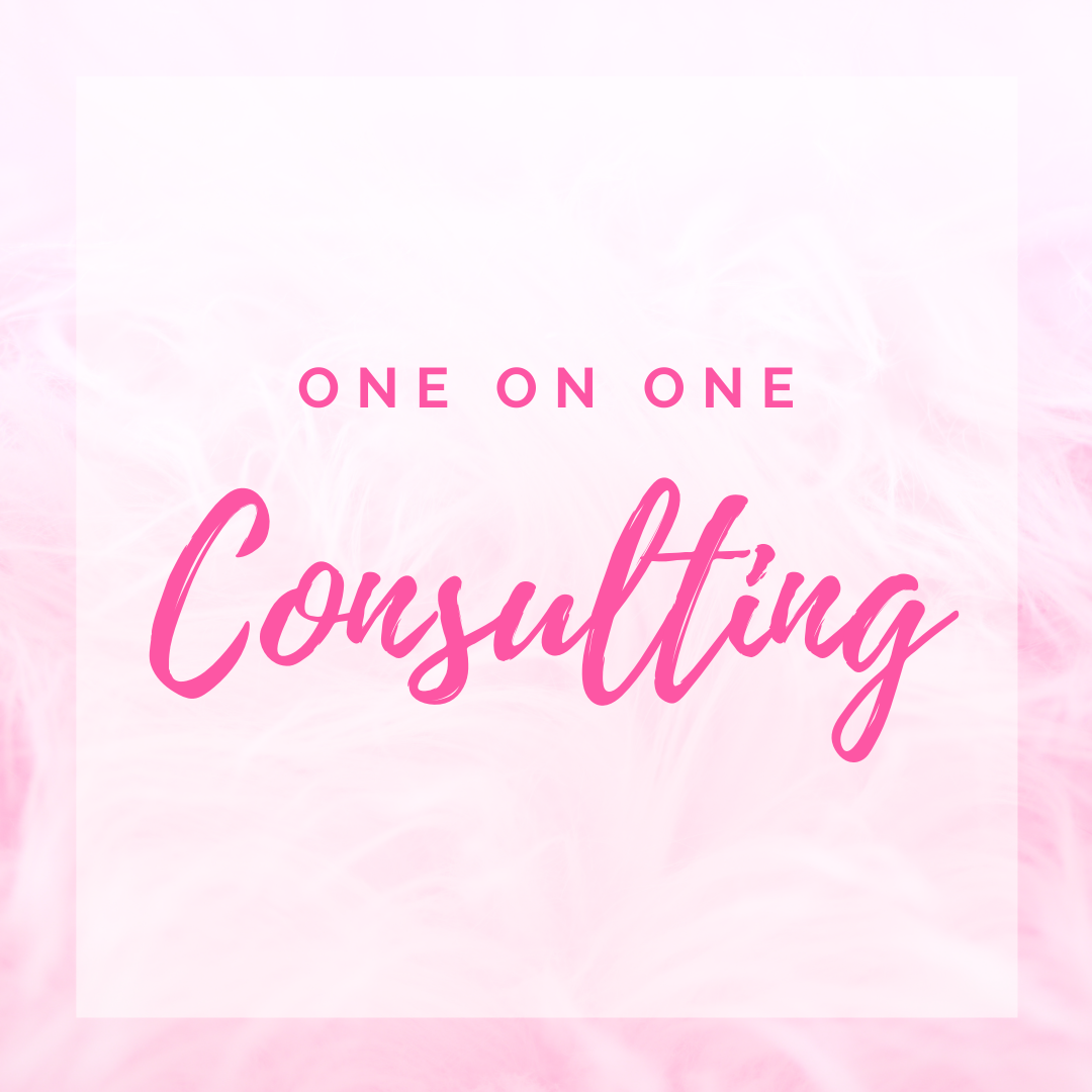 1 on 1 Consulting - 1 hr