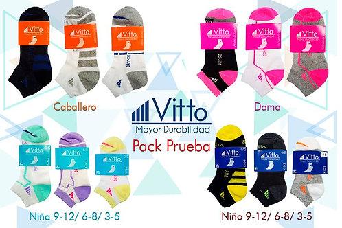 Vitto Pack-Prueba (100 Pares)