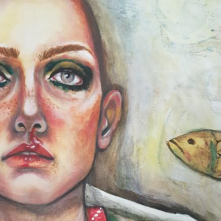 Oil & Acrylic on Canvas