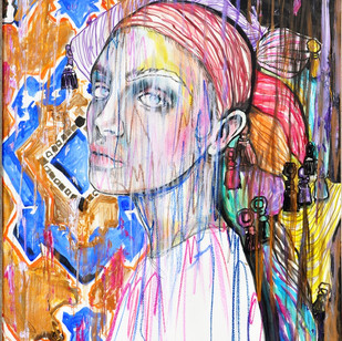 Muse - 85 x 60 cm - BHD400/$1060 /SOLD