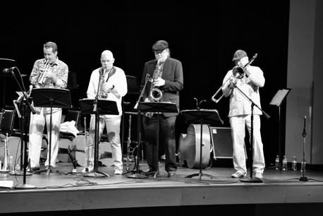 Performing with Beto y Los Fairlanes