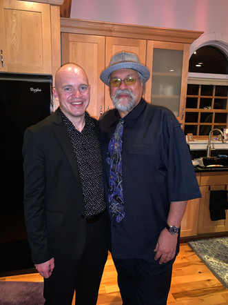 Post-concert photo with Joe Lovano