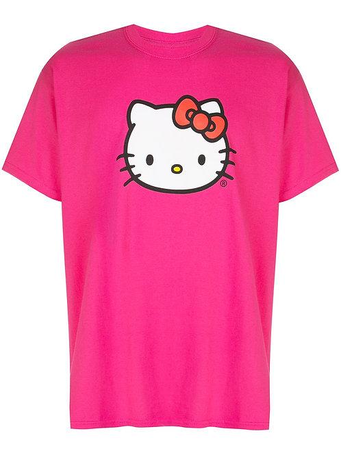 Anti Social Social Club Hello Kitty print T-shirt