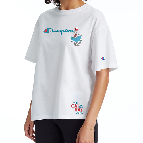 Champion x Dr. Seuss Cat In The Hat Tee