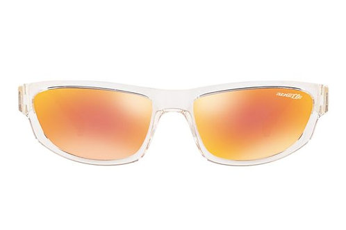 Arnette Orange Mirror Red Sunglasses