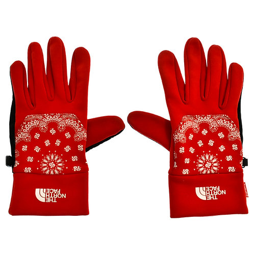 Supreme The North Face Bandana Gloves Red