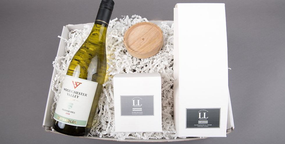 Woodchester Valley Culver hill and diffuser gift set