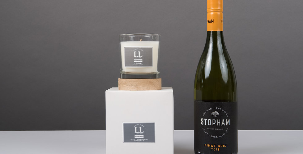 Fathers day gift box Stopham Pinot Gris 2019