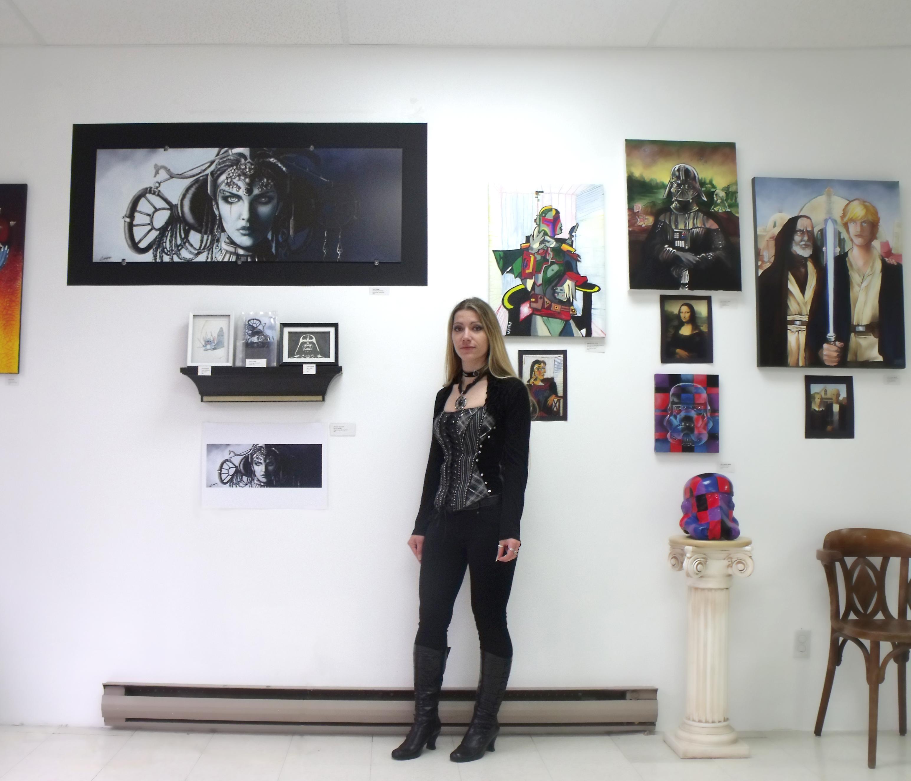 Montréal-Expo Star wars Galerie des 100 talents 2014