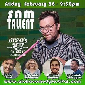 Sam Tallent O'Toole's.jpg