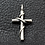Thumbnail: Winding cross pendant sterling silver 925 Gothic style