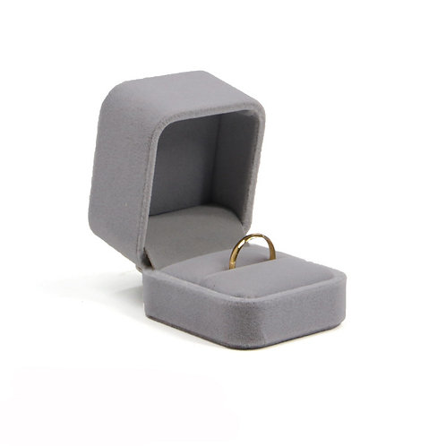 Superior quality jewelry box ring box flannelette casket